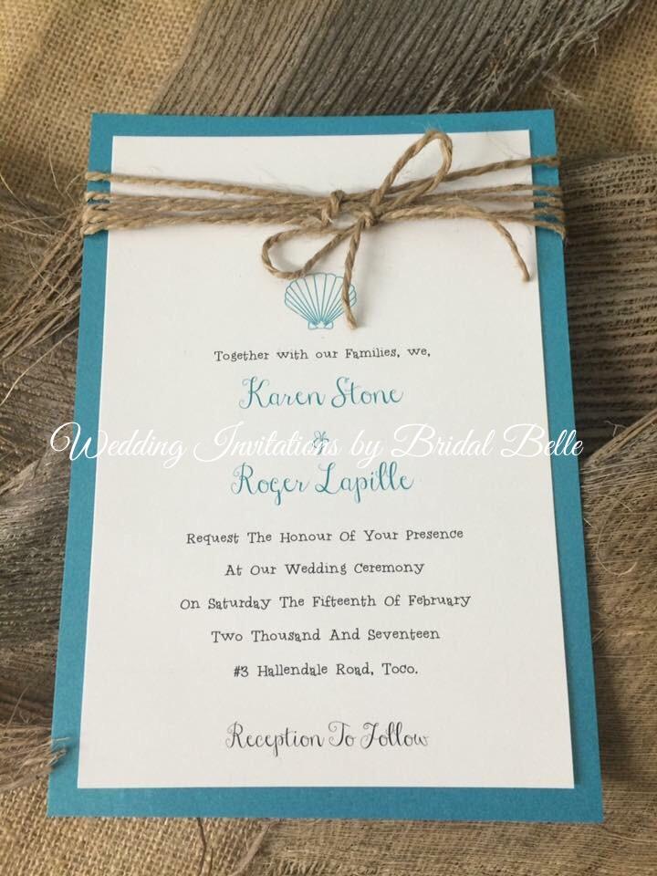 beach themed invitations wedding invitations by bridal belle