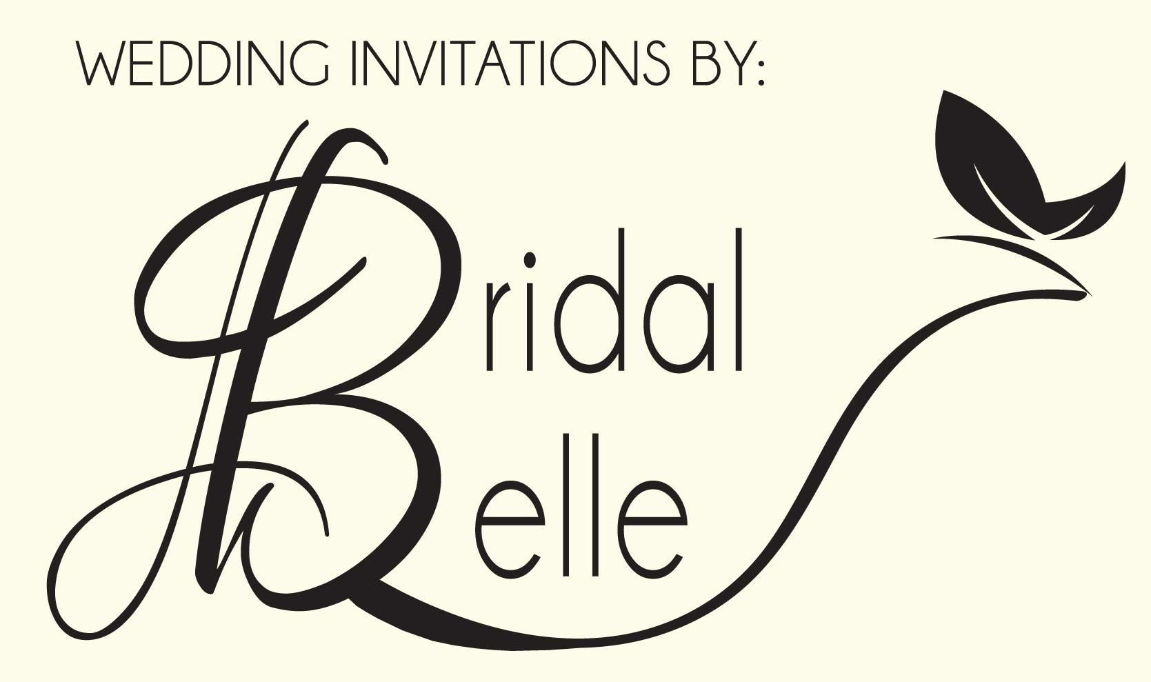 Wedding Invitations by Bridal Belle