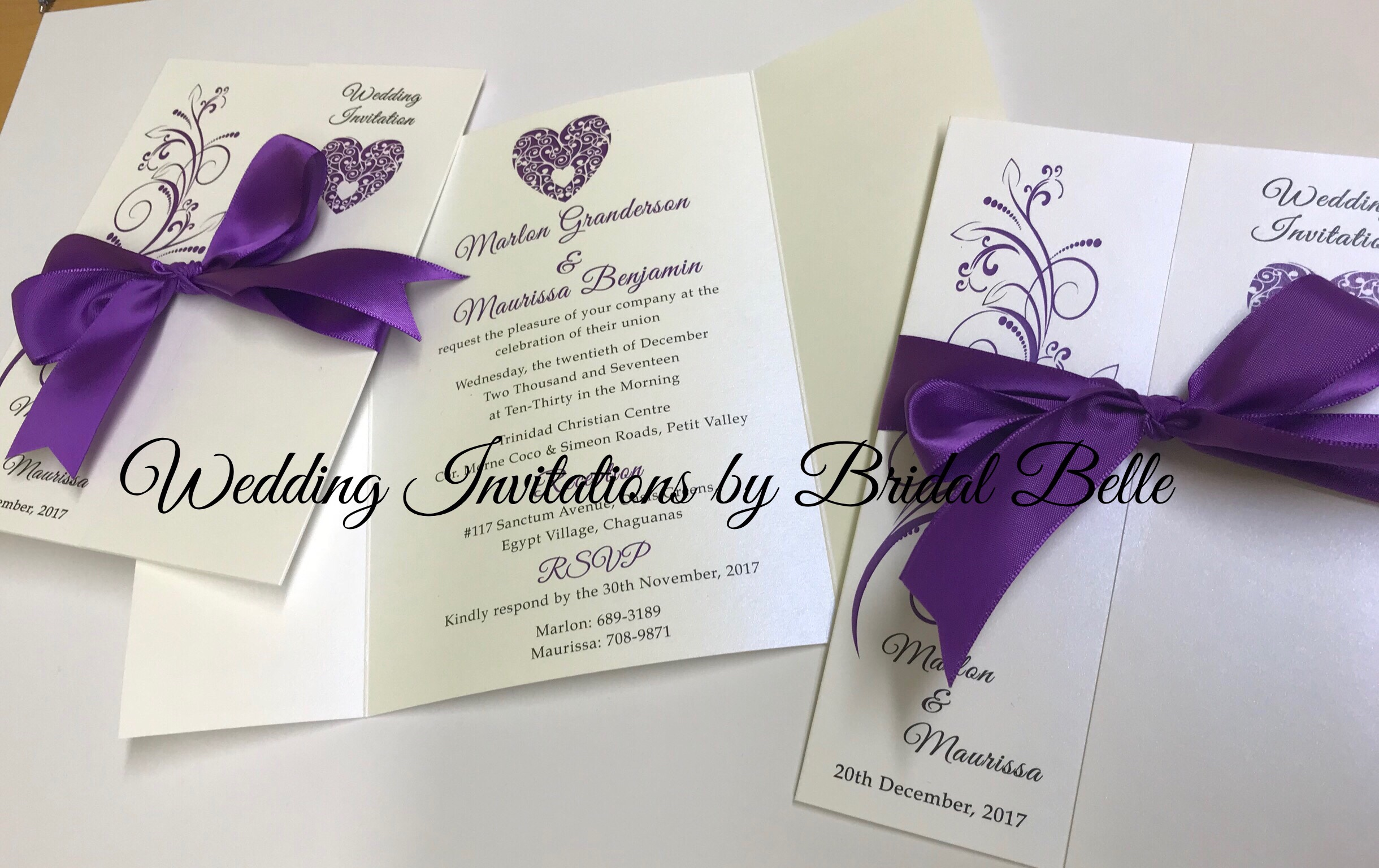 Jacket Invitations – Wedding Invitations by Bridal Belle
